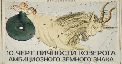козерог знак зодиака женщина мужчина совместимость характеристика любовь астрология гороскоп