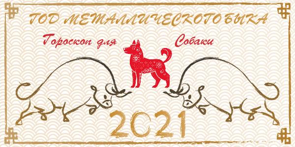 китайский гороскоп 2021 собака